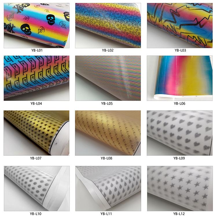 3d lenticular film colors
