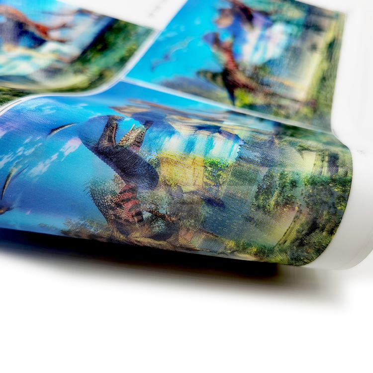 3D Lenticular Stickers