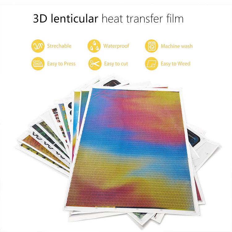 3d lenticular film